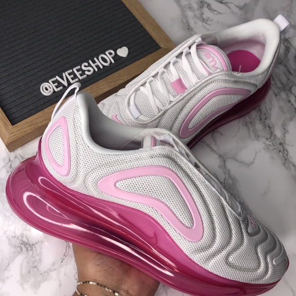 Nike Air Max 720 , - Color: Pink White